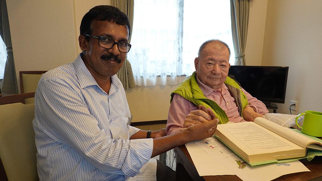 M.R.Hari with Prof. Akira Miyawaki