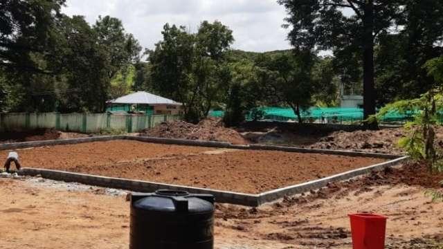 Land preparation phase at Thrissur